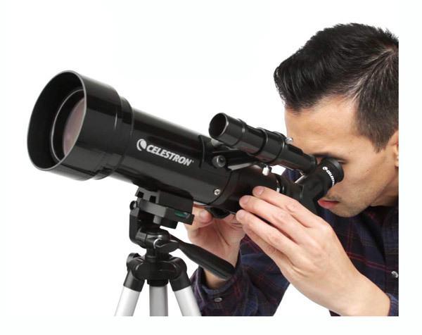 Celestron - 70mm Travel Scope - Portable Refractor Telescope